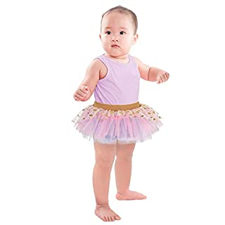 Amscan 8402832 Disney Princess Toddler Pink Tutu Diaper Cover - 12-24 Mos. 1 ct