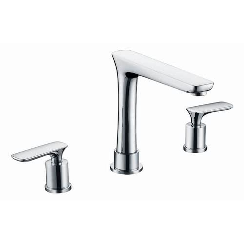 """Jade Bath JB-13263 20.75"""" W x 14.35"""" D CUPC Rectangle Undermount Sink Set with 8"""" o.c. CUPC Faucet and Drain, White durable service"""