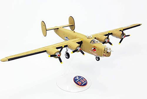 B-24J Liberator WWII Bomber w/Swivel Stand Model Kit Atlantis Toy and Hobby from Atlantis Toy and Hobby