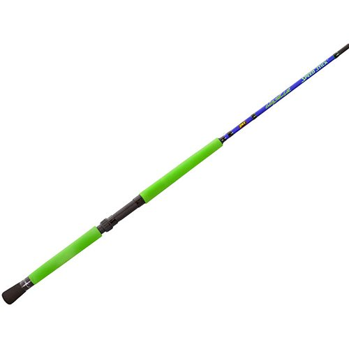 - Lews Fishing WMSS12-2 Wally Marshall Speed Stick Spinning Rod, 12' Length, 2pc, 4-12 lb Line Rate, 1/8-1/4 oz Lure Rate, Medium/Light Power