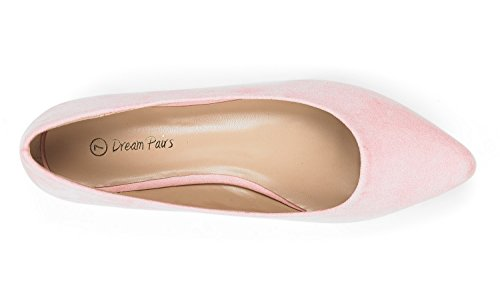 Comfort Flats Ballet Shoes Women's Toe Pointed Slip Classic Soft Pink Sole Dream Casual Pairs On Fancy 8xIq6Oz6w