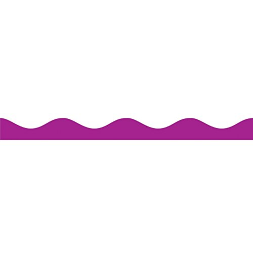 Ashley Productions Magnetic Scallop Border, Purple, 12' by Ashley Productions (Image #1)
