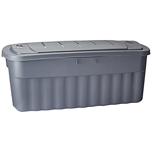 Merveilleux Rubbermaid Roughneck Storage Box, 50 Gallon, Grey (FG2550CPCYLND)