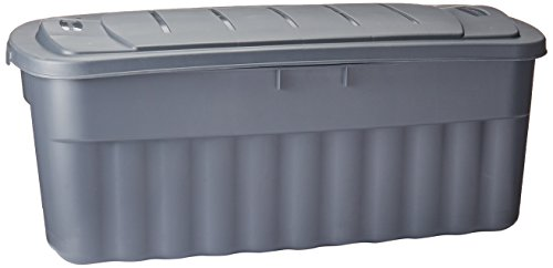 Rubbermaid Roughneck Storage Box, 50-Gallon, Grey (FG2550CPCYLND)