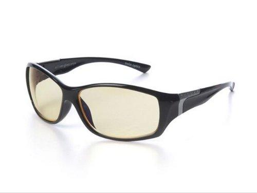 GUNNAR Optiks e11ven Advanced Computer/Gaming Eyewear, Onyx/Amber