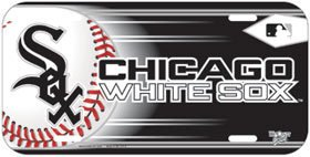 (Wincraft MLB Chicago White Sox License Plate )