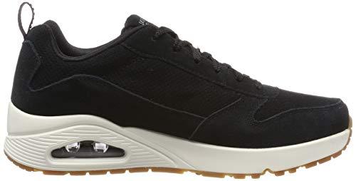 Negro Skechers Uno black Blk Para Hombre Zapatillas xrIRnr