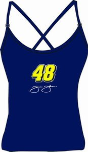 Jimmie Johnson Strappy Ladies Tank Top