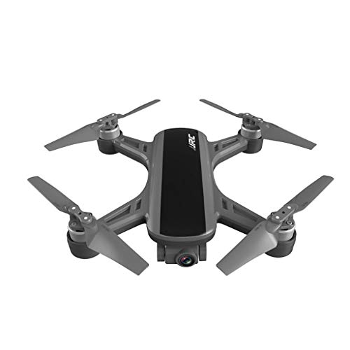 Klions JJ-RC Heron X9 GPS Foldable Quadcopter Drone+Battery+Bag with 5G WIF 1080P HD Camera/Headless/One-Key Return/Optical Flow Positioning/Altitude Hold/Brushless Motor(Black&White) (BK)