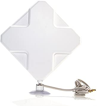 BlueBeach® antena 4G (35dbi) para Huawei router con conector SMA (Huawei B593 B970 B880 B890 B683 B220)