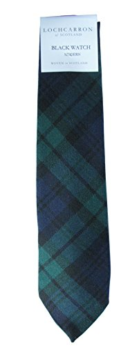 Top wool tie plaid