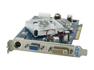 (PNY VCG76512SAPB PNY VCG76512SAPB GeForce 7600GS 512MB 128-bit GDDR2 AGP 4X/8X Video)