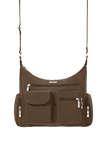 Baggallini Everywhere Travel Crossbody Bag Mocha One Size In The Uae See Prices Reviews And