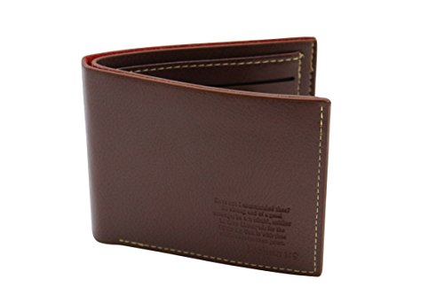 Mens-Christian-Scripture-Leather-Bi-fold-Wallet