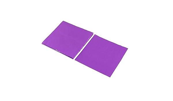 Amazon.com: Envolturas de chocolate eDealMax papel de aluminio desechables para hornear magdalenas caramelo de papel de aluminio papel 10 x 10 cm 100pcs ...