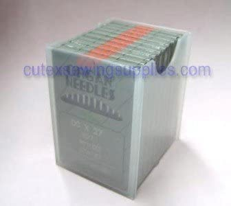 100 ORGAN DCX1F Serger Needles For BABYLOCK SIMPLICITY Overlock Machines Size 12 metric 80