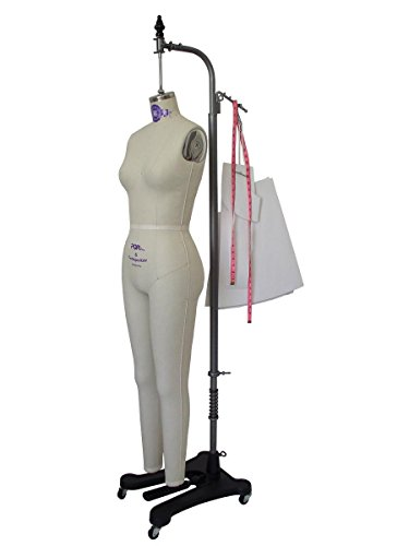 Professional Missy Female Full Body Dress Form Tailor Dummy Mannequin Collapsible Shoulders Sizes 2-12 (12) -  PGM Pro Inc, 605A