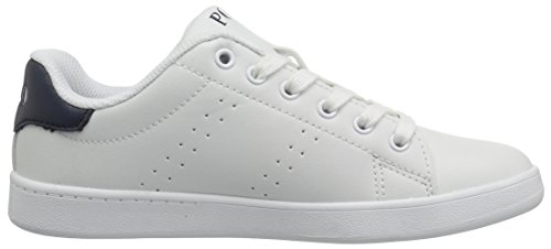 Ralph Lauren Junior Blanco Quincey Court Zapatillas