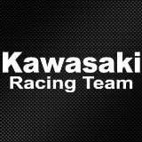 FANTASTICK 2 Stickers//Autocollants Blanc Kawasaki Qualit/é Premium Haute R/ésistance