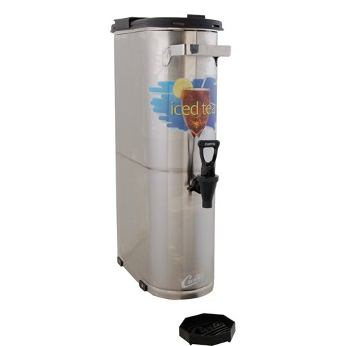 "Wilbur Curtis Iced Tea Dispenser 3.5 Gallon Narrow Tea Dispenser, 22""H - Designed to Preserve Flavor  - TCN (Each) by Wilbur Curtis (Image #1)"