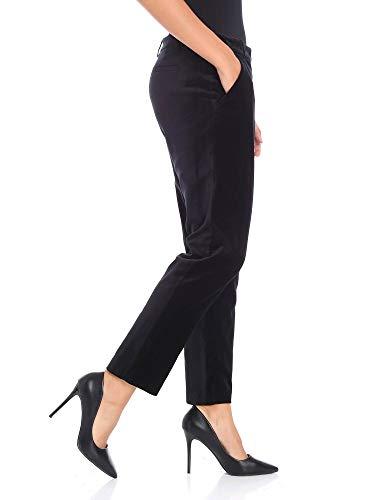 Nero 1g13qd7082z99 Donna Cotone Pinko Pantaloni WqzwT