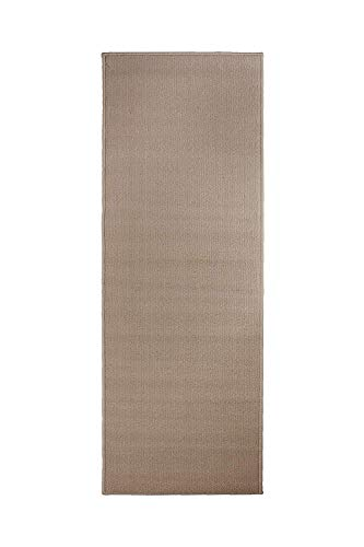 (Ritz Accent Door Rug Runner with Non-Slip Latex Backing, 20-Inch by 60-Inch Kitchen & Bathroom Runner Rug, Beige)