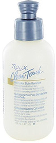 Roux Clean Touch Hair Color Stain Remover, 4 oz (Pack of 4) by Roux