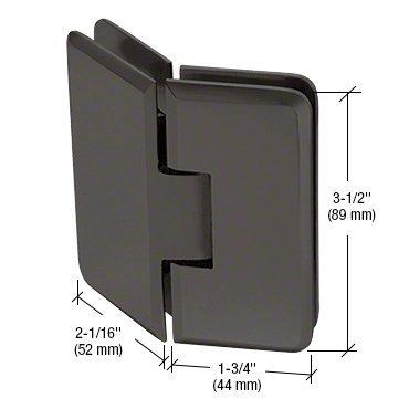 """CRL White Andersen 3/4"""" x 7/16"""" Plastic Screen Frame Corner - PL16265"""