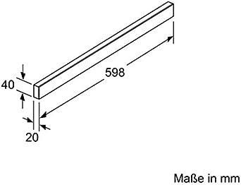 SIEMENS LZ46551 Griffleiste 60cm Edelstahl