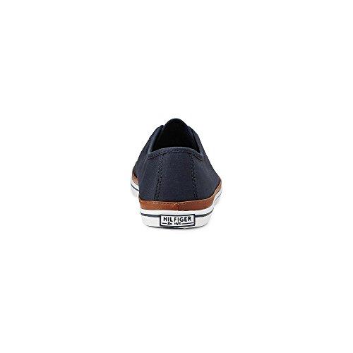 Tommy Hilfiger Damen K1285esha 6d Sneakers blau-dunkel
