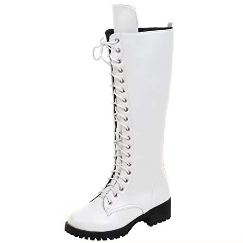 AIYOUMEI Women's White Women's Boot AIYOUMEI Classic vgxwCg0rnq