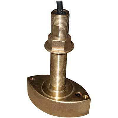 (Furuno 525t-Bsd Bronze Thru-Hull Transducer W/temp, 600w (10-Pin) Mounting Style = Thru-Hull ; Frequency = 50/200 ;)