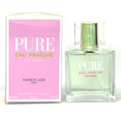 PURE EAU FRAICHE BY KAREN LOW 3.4 FL.OZ. EDP SPRAY FOR WOMEN. DESIGNER:KAREN LOW