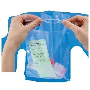 sacchetti a doppia tasca con chiusura a pressione cm.20x30 conf. da 100 pezzi gandolfisnc