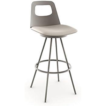 Amisco Ovo Swivel Metal Barstool with Backrest 30-Inch Titanium  sc 1 st  Amazon.com & Amazon.com: Amisco Ovo Swivel Metal Barstool with Backrest 30 ... islam-shia.org