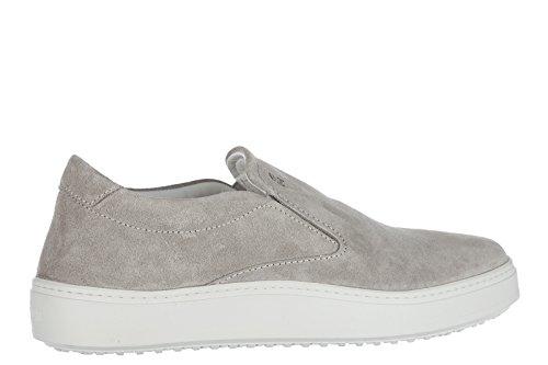 Sneakers camoscio h302 on Slip in Grigio Hogan Nuove Originali Uomo XawUBxxq