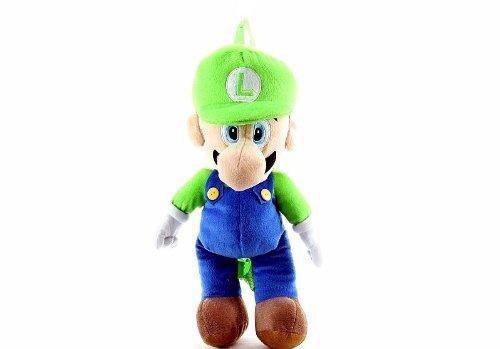 Nintendo Mario Bros. Luigi Large Plush Backpack 18 inches...
