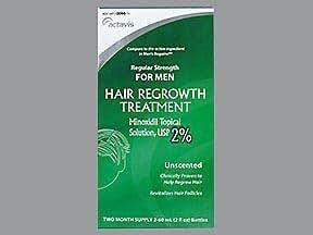 Actavis Minoxidil 2% Men - 4 oz, Pack of 2