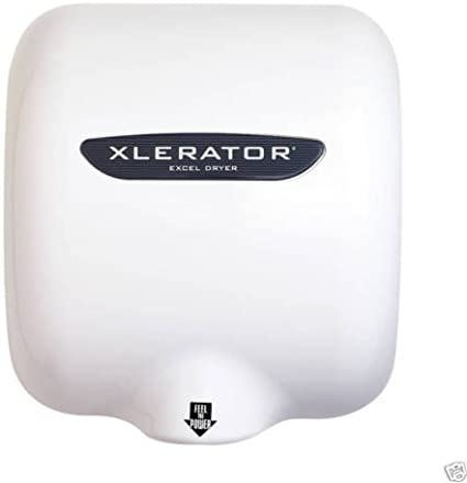 Excel Dryer Xlerator Dries in 10 Sec Automatic hand dryer high speed bathroom electric sensor new white model XL fastest Commercial Electric Hand Dryer