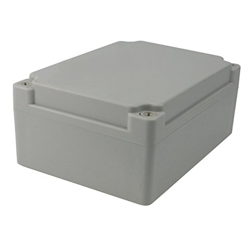 "Price comparison product image Ogrmar Plastic Dustproof IP65 Junction Box DIY Case Enclosure (6.9""x 4.9""x 3"")"