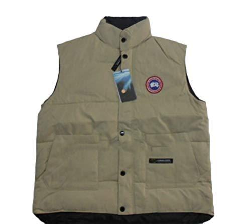 Vest 4 Casual Gocgt Coat Lightweight Collar Stand Mens Jacket Down Vest wq47O