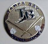 Tampa Bay Devil Rays Round Metal Magnet
