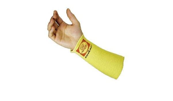 """Kevlar Cut Heat Resistant Arm Sleeve 22/"""" Protection Double Layer Thumb Slot"""
