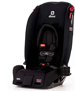 Diono 2020  Radian 3RX Latch All-in-One Convertible Car Seat, Black Jet
