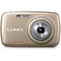 Panasonic Lumix DMC-S1 12.1 MP Digital Camera with 4x Optical Image Stabilized Zoom with 2.7-Inch LCD (Gold) Review Review Image