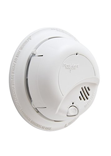 : First Alert BRK 9120BFF Hardwired Smoke Alarm with Battery Backup, Single