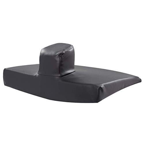 Sammons Preston Pommel Wedge Cushion, Wheelchair Accessory, Seat Pad, Foam Support Pad, Lower Back, Tailbone, and Sciatica Pain Relief, Slide Control to Prevent Slipping Out of -