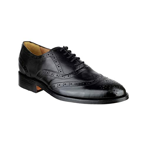 (Amblers Ben Leather Soled Shoe/Mens Shoes (13 US) (Black) )