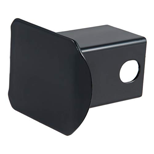 CURT 22750 Bulk Black Steel Trailer Hitch Cover, Fits 2-Inch Receiver (Metal Hitch Cover)