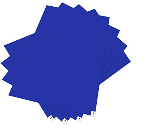 YAHEA Silence Cleaner, 4 Pads 24x36 Blue Clean room Sticky/Tacky/Adhesive Mat(4pack)for Renovations/Construction/Lab-Room (Catcher Mats Dirt)